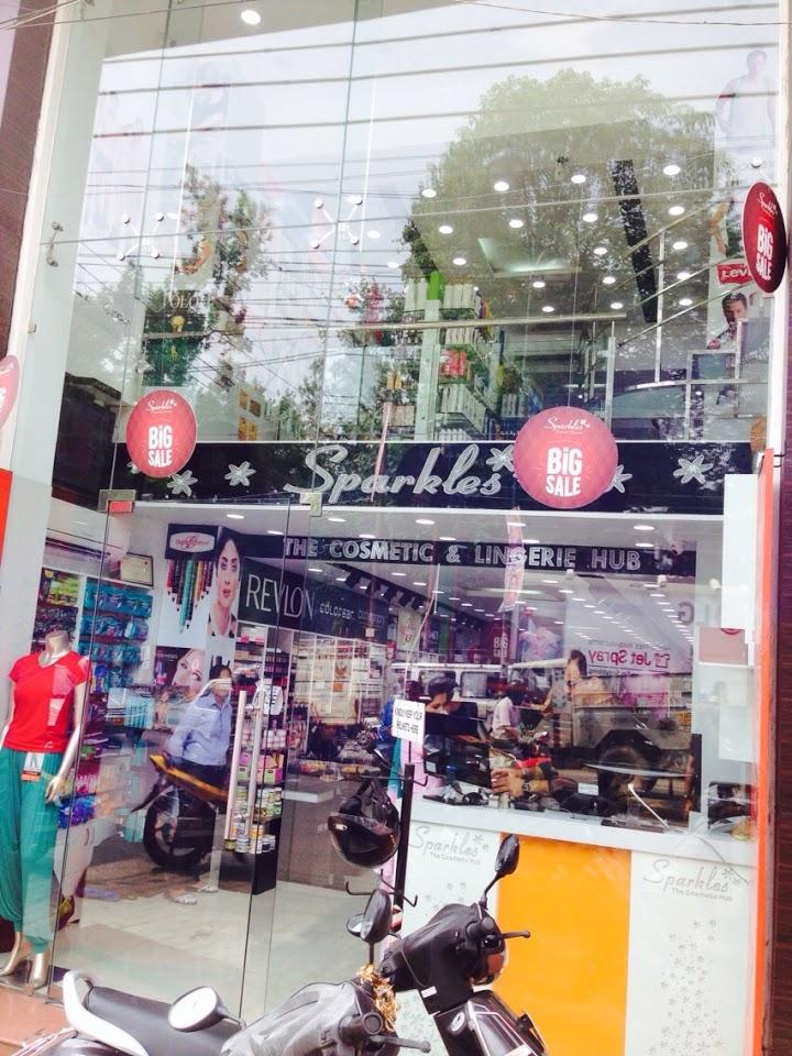 Sparkles Cosmetic store Dehradun