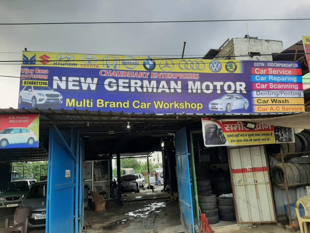 New German motor multi brand car workshop
